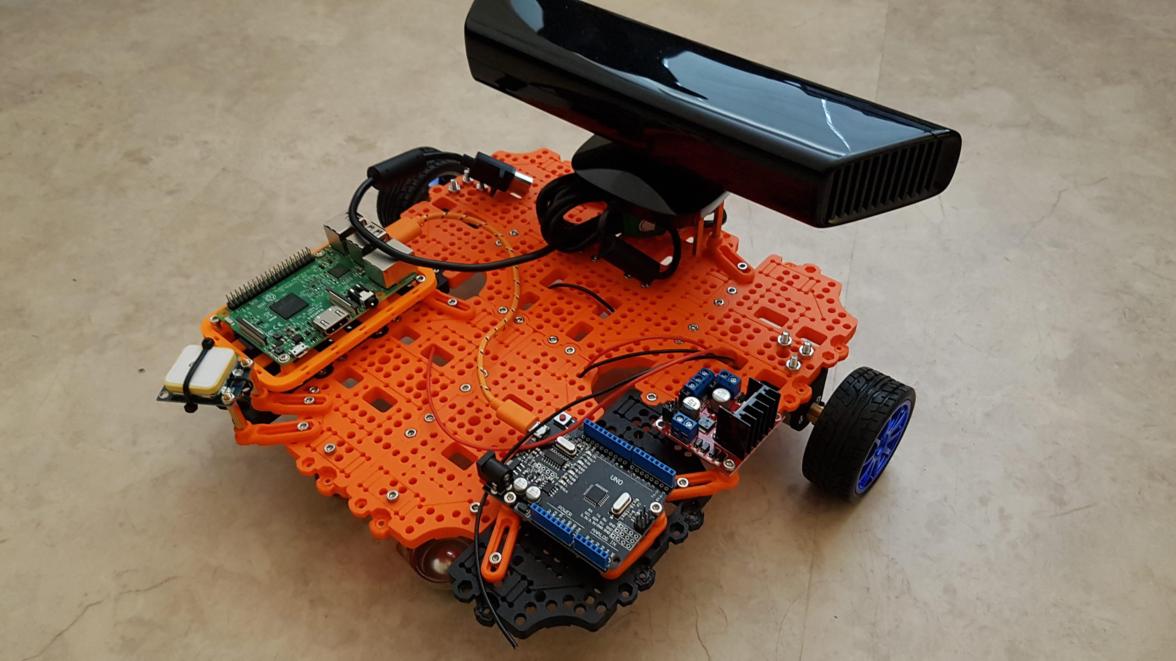 Custom Turtlebot 3 back