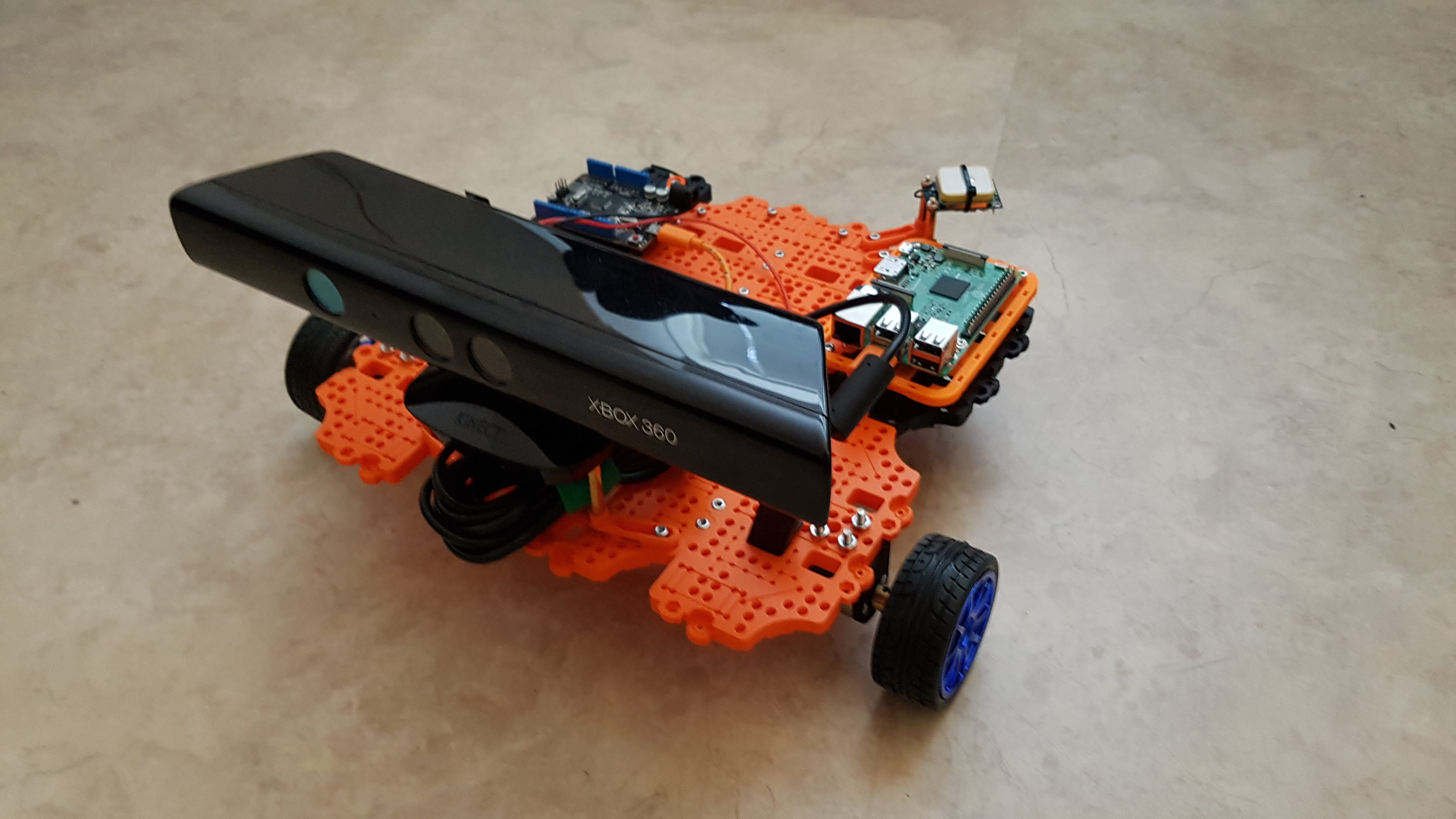 Custom Turtlebot 3 front